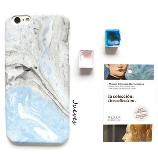 Marble Print Mobile Case - iPhone XS Max / XS / XR / X / 8 / 8 Plus / 7 / 7 Plus / 6S / 6S Plus from Handy Pie