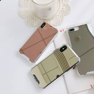Mirror Phone Case - iPhone 6 / 6 Plus / 7 / 7 Plus / 8 / 8 Plus / X from Handy Pie