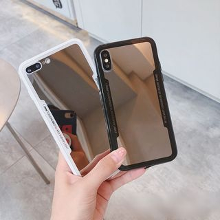 Mirrored Mobile Case - iPhone XS Max / XS / XR / X / 8 / 8 Plus / 7 / 7 Plus / 6S / 6S Plus from Handy Pie