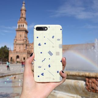 Patterned Mobile Case - iPhone XS Max / XS / XR / X / 8 / 8 Plus / 7 / 7 Plus / 6s / 6s Plus from Handy Pie