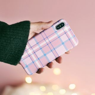 Plaid Mobile Case - iPhone XS Max / XS / XR / X / 8 / 8 Plus / 7 / 7 Plus / 6s / 6s Plus from Handy Pie
