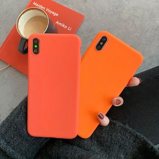 Plain Mobile Case - iPhone XS Max / XS / XR / X / 8 / 8 Plus / 7 / 7 Plus / 6s / 6s Plus from Handy Pie
