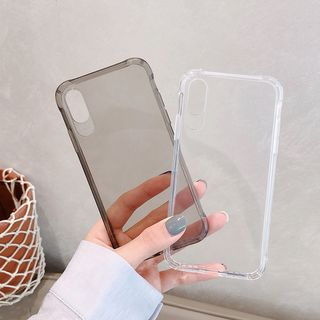 Transparent Mobile Case - iPhone XS Max / XS / XR / X / 8 / 8 Plus / 7 / 7 Plus / 6s / 6s Plus from Handy Pie