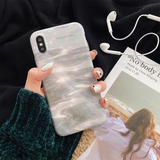Water Reflection Print Mobile Case - iPhone XS Max / XS / XR / X / 8 / 8 Plus / 7 / 7 Plus / 6s / 6s Plus from Handy Pie