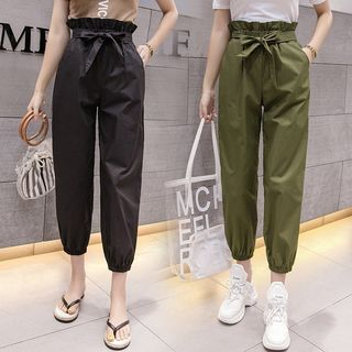 Crop Harem Pants from Happo