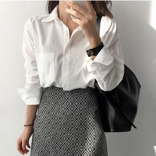 Plain Shirt from Happo