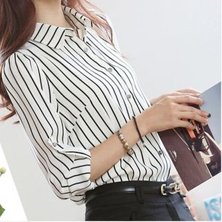 Striped Blouse from Happo