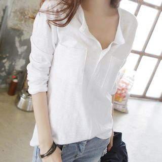 V-Neck Blouse from Happo