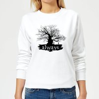 Harry Potter Always Tree Women's Sweatshirt - White - S - White from Harry Potter