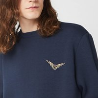 Harry Potter Golden Snitch Unisex Embroidered Sweatshirt - Navy - M - Navy from Harry Potter