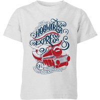 Harry Potter Hogwarts Express Kids' T-Shirt - Grey - 3-4 Years - Grey from Harry Potter