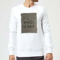 Harry Potter Ministry Of Magic Sweatshirt - White - M - White from Harry Potter