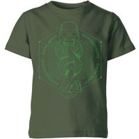 Harry Potter Morsmordre Dark Mark Kids' T-Shirt - Forest Green - 9-10 Years - Forest Green from Harry Potter