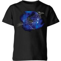 Harry Potter Ravenclaw Geometric Kids' T-Shirt - Black - 11-12 Years - Black from Harry Potter