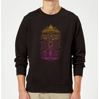 Harry Potter School List Sweatshirt - Black - L - Black from Harry Potter