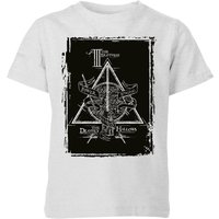 Harry Potter Three Brothers Kids' T-Shirt - Grey - 5-6 Years - Grey from Harry Potter