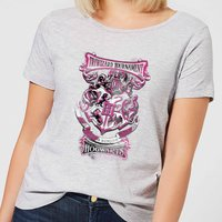 Harry Potter Triwizard Tournament Hogwarts Women's T-Shirt - Grey - XL - Grey from Harry Potter