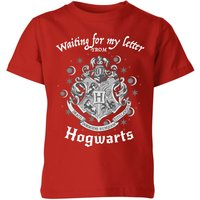 Harry Potter Waiting For My Letter From Hogwarts Kids' T-Shirt - Red - 9-10 Years - Red from Harry Potter