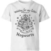 Harry Potter Waiting For My Letter From Hogwarts Kids' T-Shirt - White - 3-4 Years - White from Harry Potter