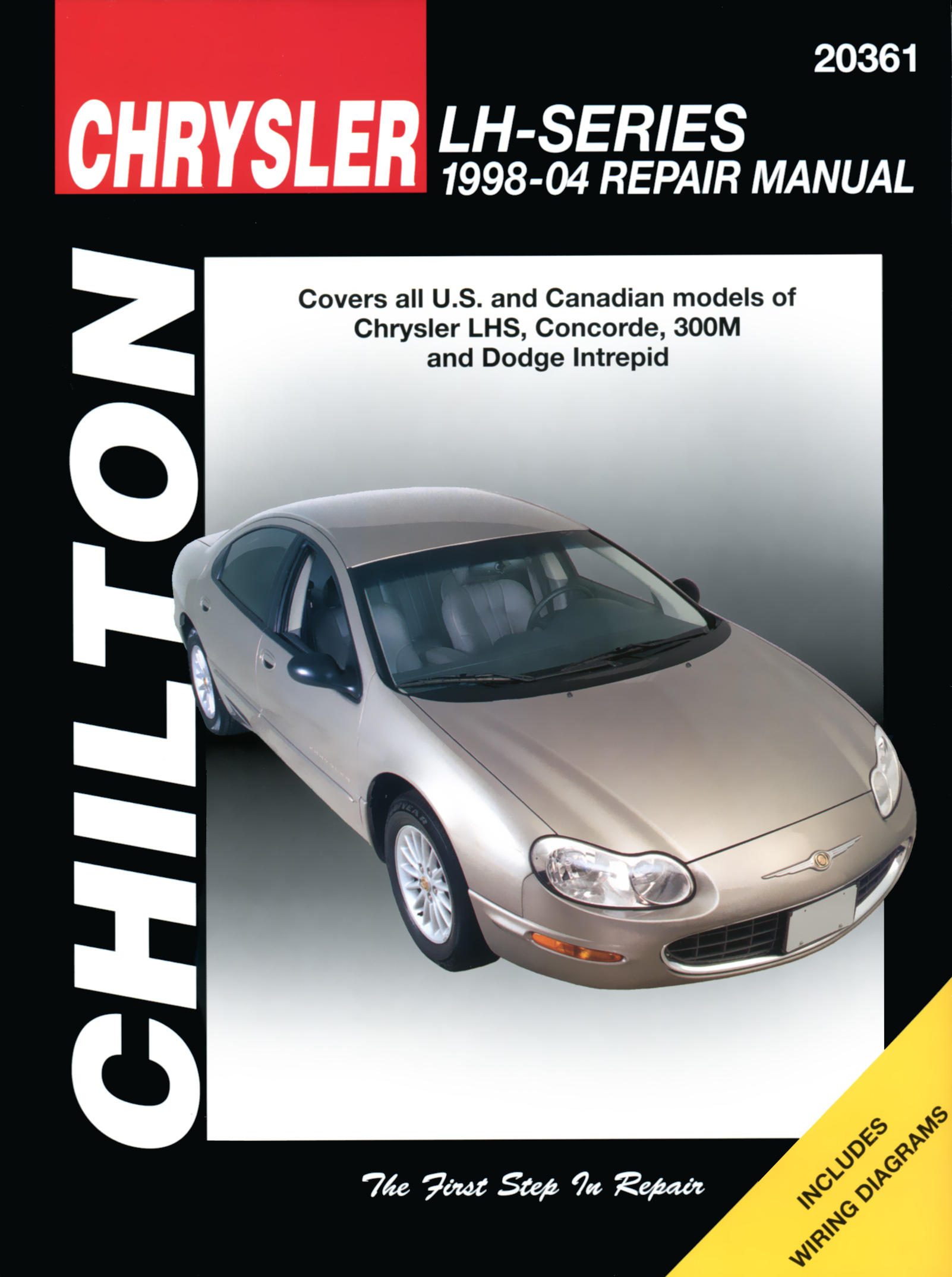 Chrysler LH-Series including LHS, Concorde, 300M & Dodge Intrepid (1998-04) Chilton Repair Manual (USA) from Haynes Manuals US