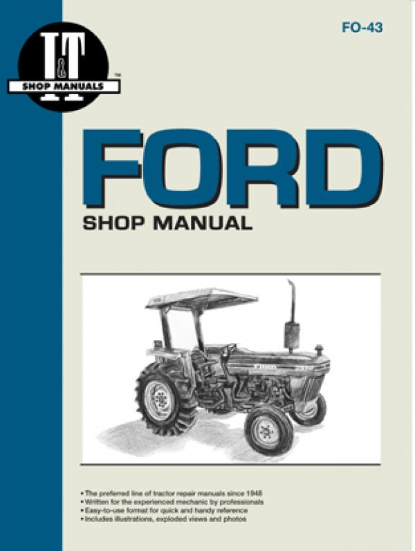Ford Model 2810, 2910 & 3910 Tractor Service Repair Manual from Haynes Manuals US