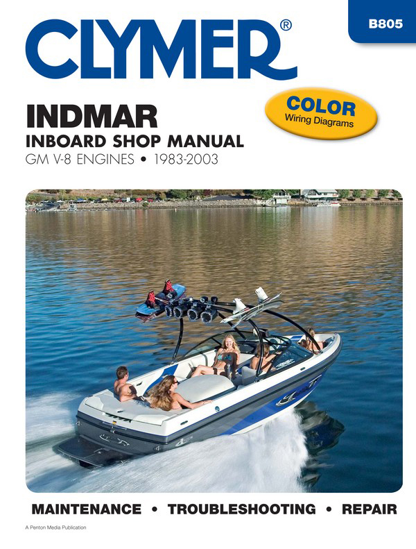 Indmar GM V-8 Inboards (1983-2003) Service Repair Manual Online Manual from Haynes Manuals US