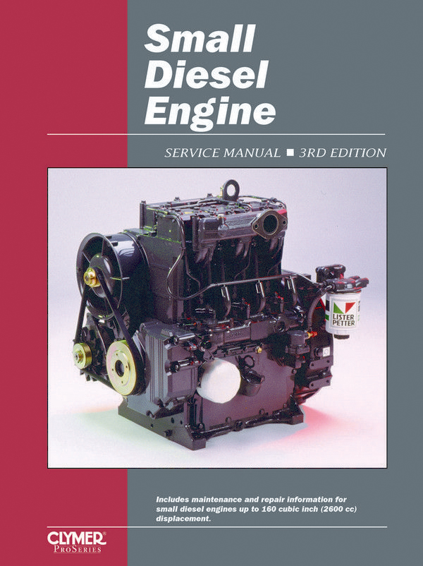 Proseries Small Diesel Engine (Air & Liquid Cooled) Service Repair Manual from Haynes Manuals US
