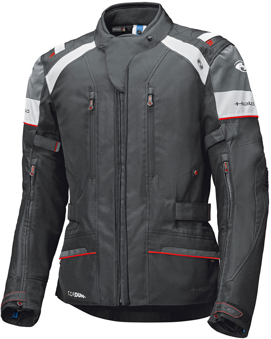 Held Tivola ST MotorcTextile Jacketycle, black-white, Size L, black-white, Size L from Held
