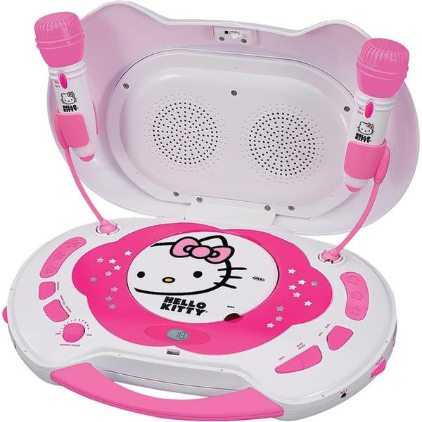 Hello Kitty KT2003CA Karaoke System with CD Player from Hello Kitty