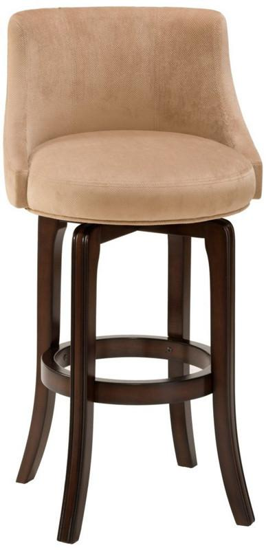 Hillsdale 4294-832I Napa Valley Swivel Bar Stool - Textured Khaki Fabric from Hillsdale Furniture