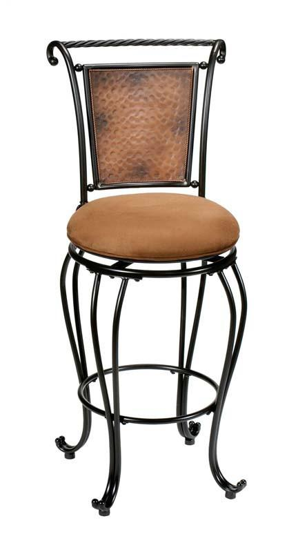 Hillsdale Milan Black Swivel Bar Stool 4527-831 from Hillsdale Furniture