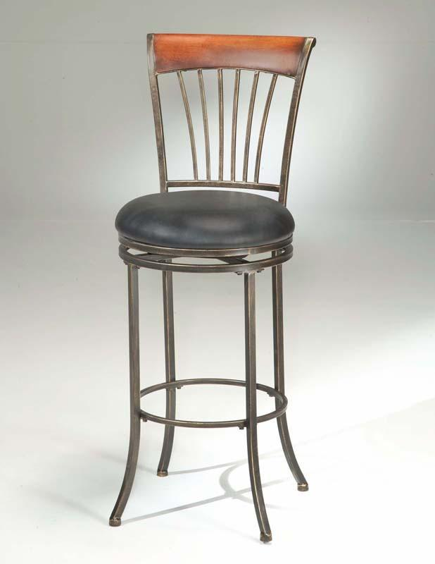 "Hillsdale Riley Swivel 26"" Barstool 4995-826 from Hillsdale Furniture"