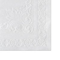 Classic Embossed Straight Edge Placemats, 10 x 14, White, 1000/Carton from Hoffmaster