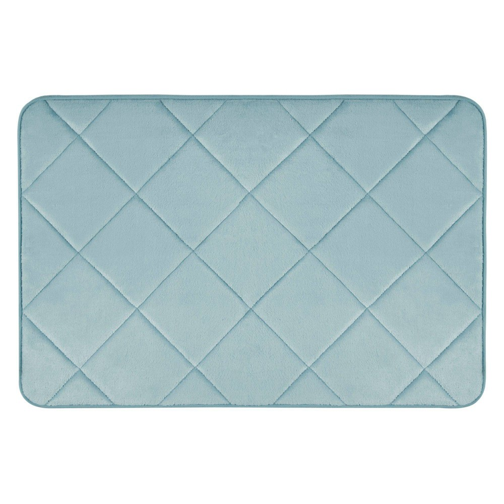 "22""x36"" Capri Haven Bath Mat Mint - Home Dynamix from Home Dynamix"