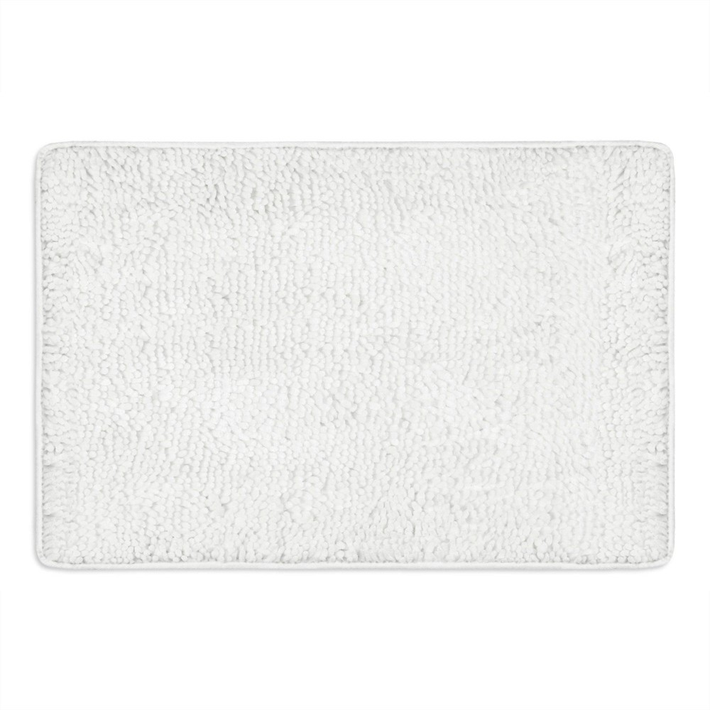 "24""x36"" Bali Breeze Bath Mat White - Home Dynamix from Home Dynamix"