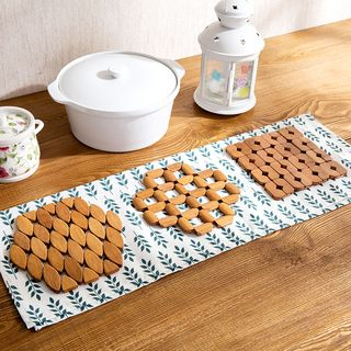 Bamboo Heat Resistant Mat from Home Simply