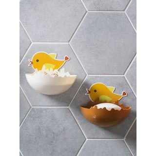 Bird Adhesive Soap Wall Organizer from Home Simply