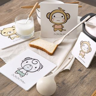 Cartoon Heat Resistance Pad / Coaster from Home Simply