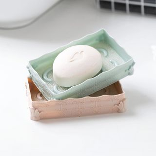 Embossed Plastic Soap Holder from Home Simply