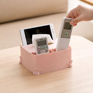 Embossed Plastic Tissue Box from Home Simply