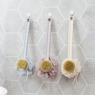 Long Handle Bath Brush from Home Simply