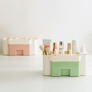 Plastic Desk Organizer with Drawer from Home Simply