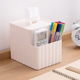 Plastic Tissue Box from Home Simply