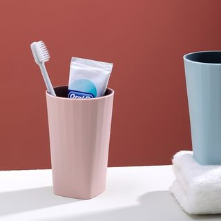 Plastic Toothbrush Cup from Home Simply