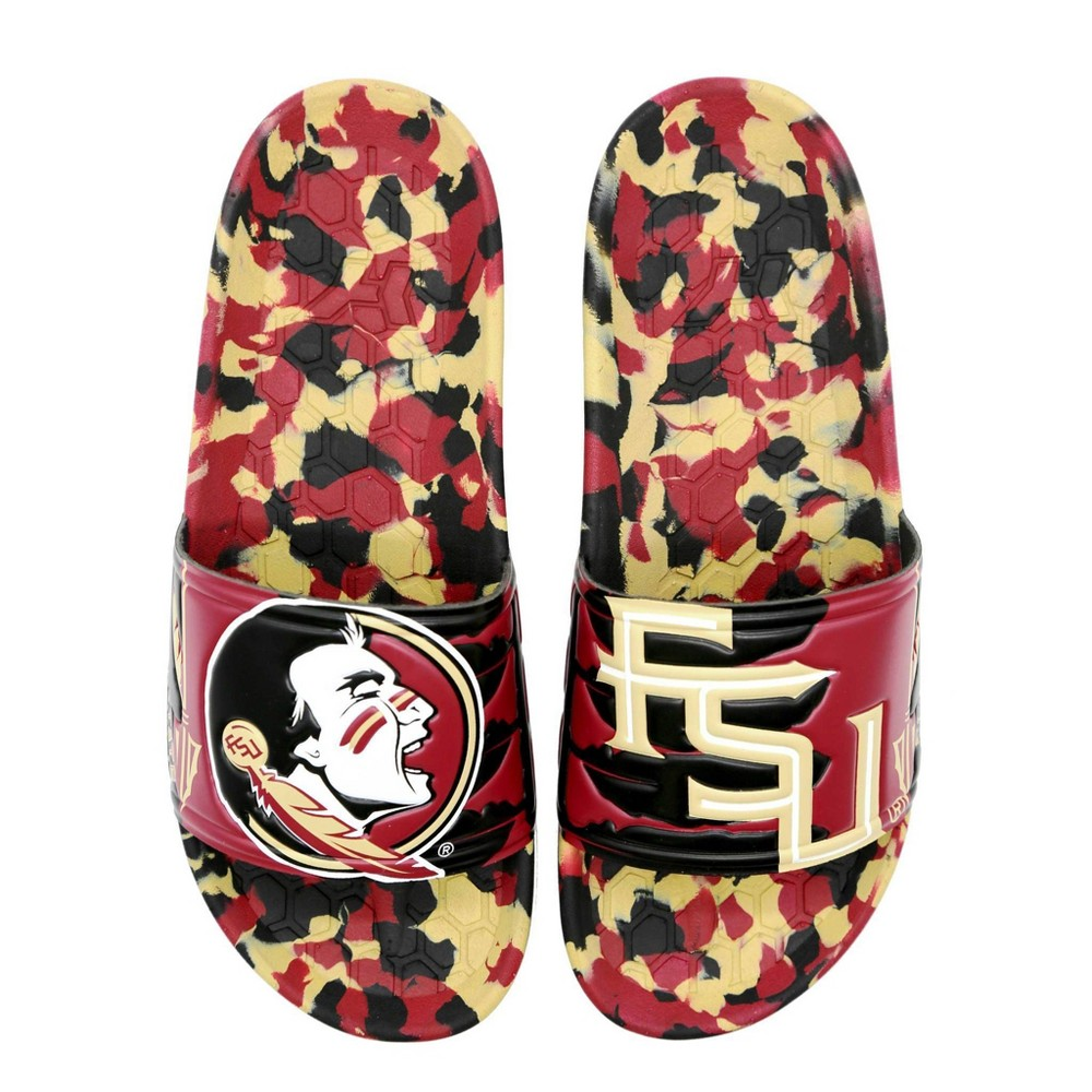 NCAA Florida State Seminoles State University Slide Sandals W11/M9 from Hype Co