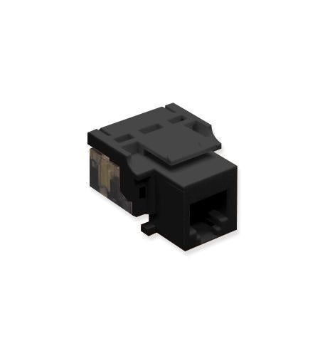 ICC ICC-CAT3JK-6-BK IC1076V0BK - Cat3 Jck 6Con. BLACK from ICC