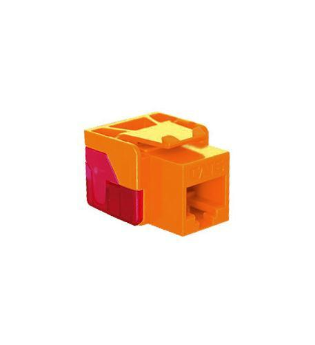 ICC ICC-CAT6JACK-OR IC1078L6OR - Cat6 Jack - Orange from ICC