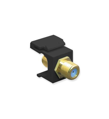 ICC ICC-IC107B9GBK MODULE, F-TYPE, GOLD PLATED, 3 GHZ, BK from ICC