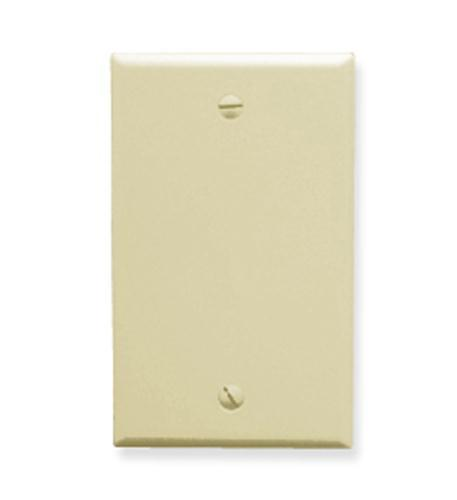 ICC ICC-IC630EB0AL Flush Wall Plate Blank - Almond from ICC