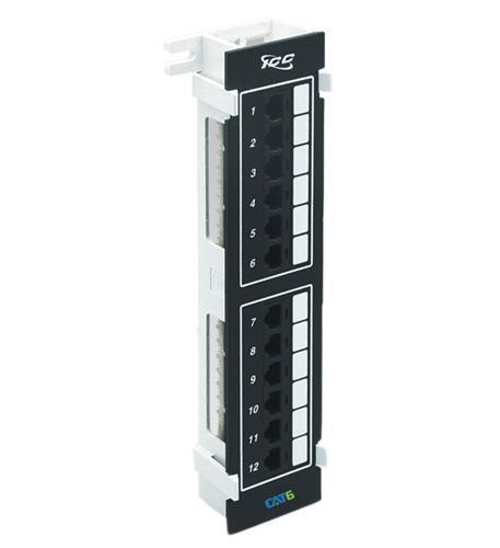 ICC ICC-ICMPP12V60 PATCH PANEL, VERTICAL, CAT 6, 12-PORT from ICC